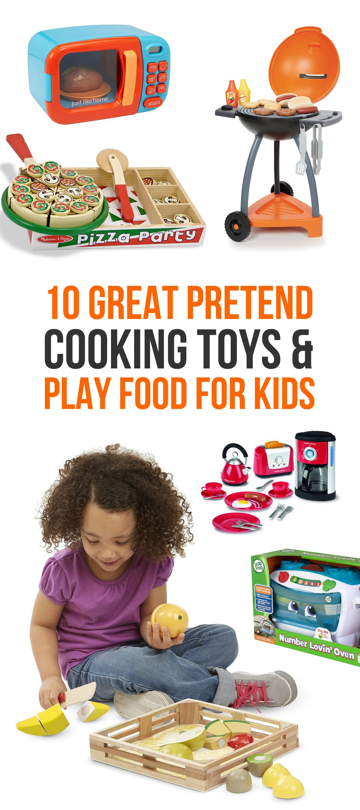 10 Great Pretend Cooking Toys & Play Food For Kids