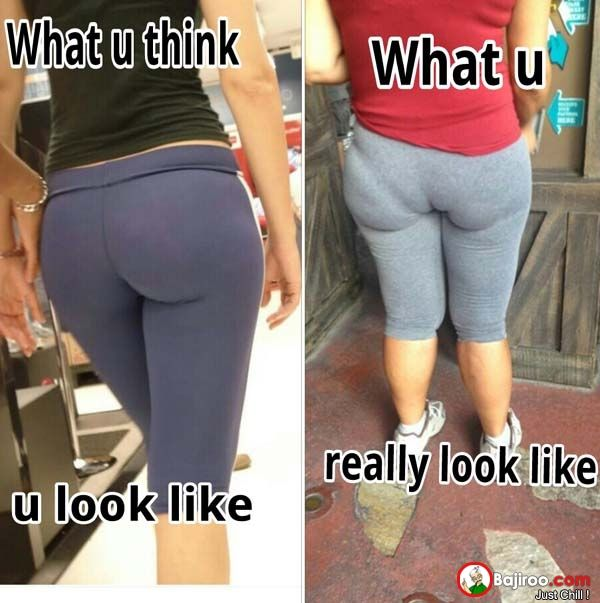 why do fat people even wear yoga pants fat things