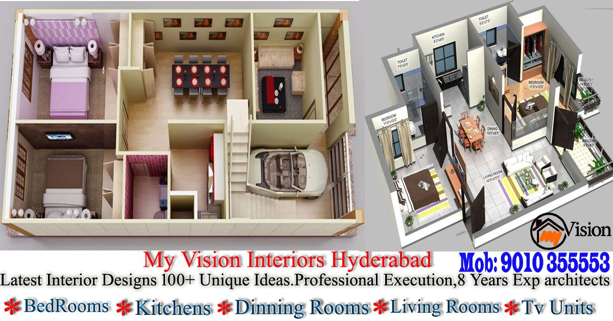Low Cost Interior Designers In Hyderabad | False ceiling ...