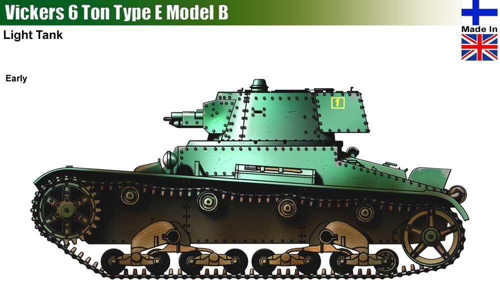 Vickers 6 TON Type E Model B