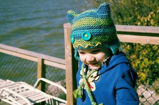 Little Monster Hat Monster Hat Knitting Patterns And Yarns