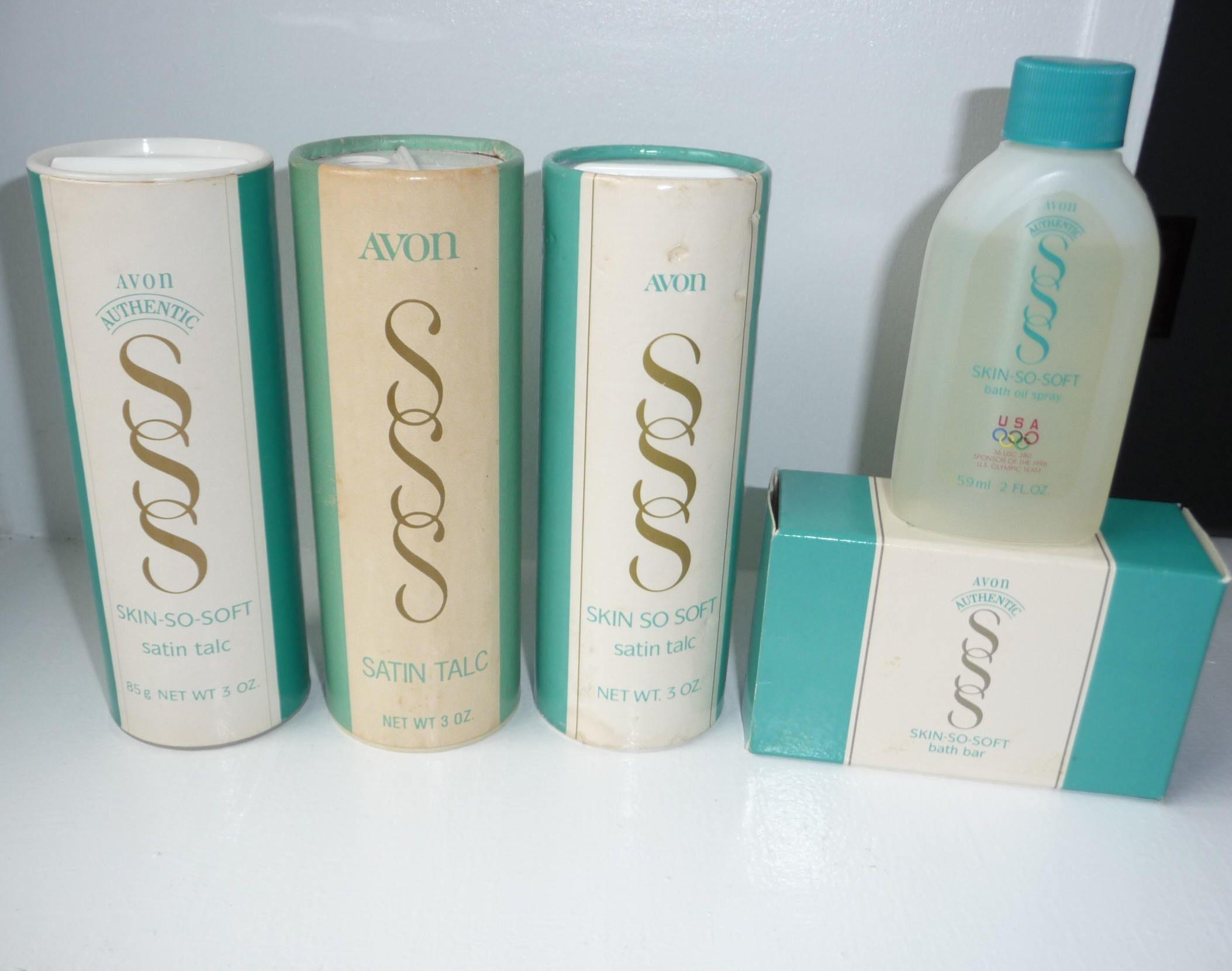 AVON Skin-So-Soft Classic Bathoil Empty
