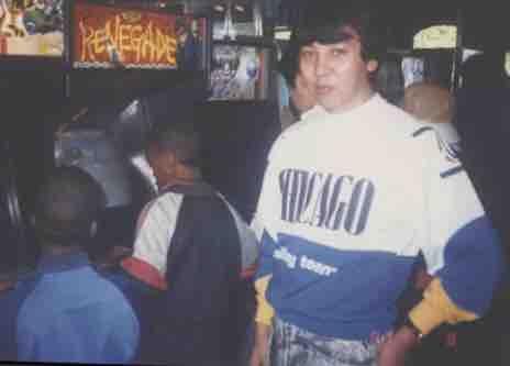 ID on CHICAGO sweatshirt