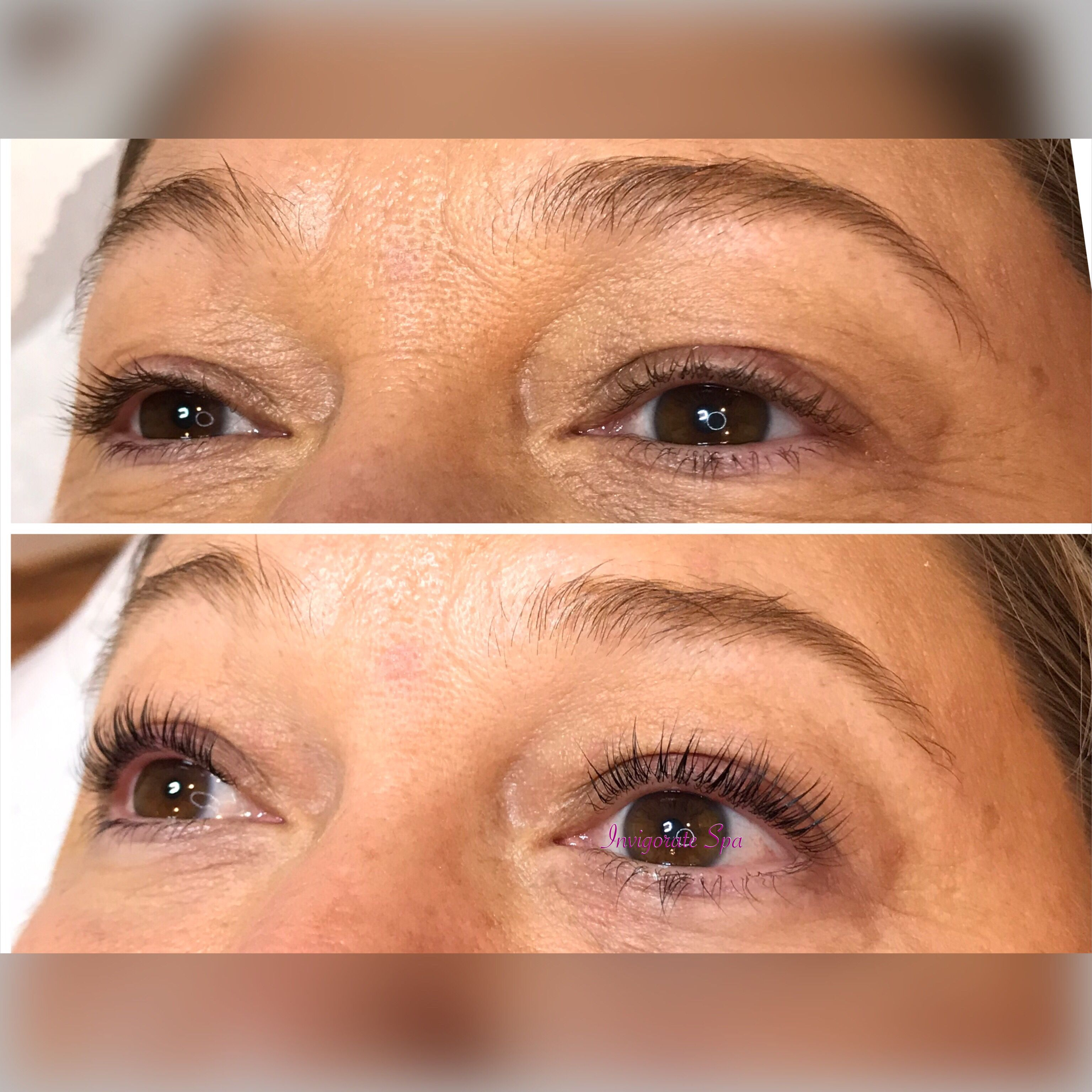 Lash Lift Tint Before And After Reserve Your Next Week Half Price