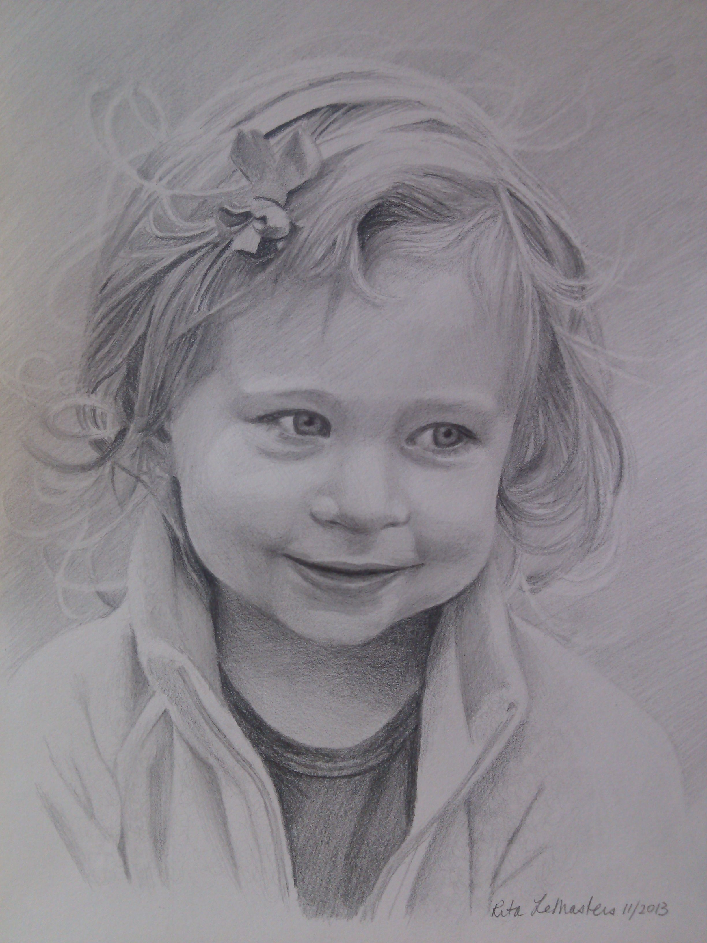 9x2 graphite portrait graphite drawings cool drawings drawing sketches child portraits