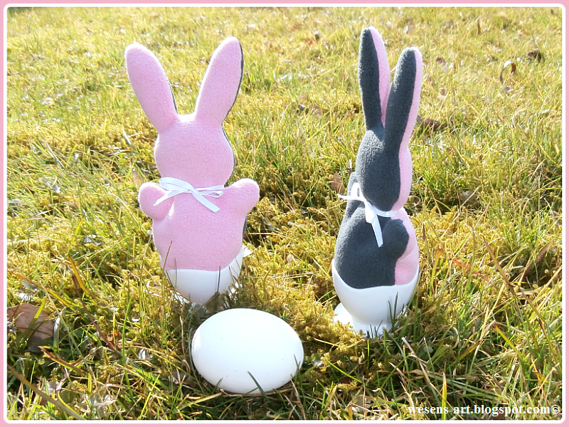 bunny egg covers...free pattern...