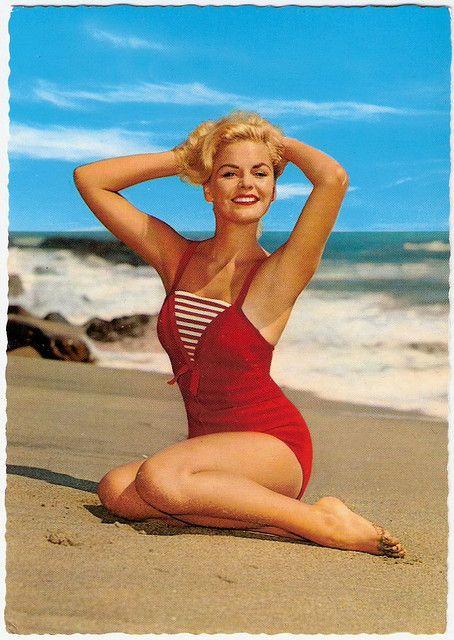 Blonde Bathing Beauty Vintage Swimwear Vintage Bathing Suits Retro Swimsuit