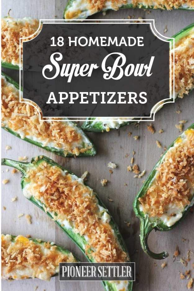 super bowl appetizers fresh from your kitchen bowls homemade and