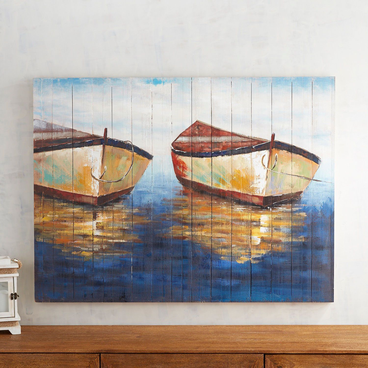 Resting Boats Wall Decor Pier 1 Imports Cuadros