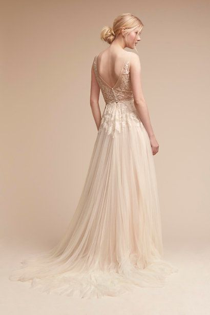 Willowby By Watters Porcelain Reagan Gown Bhldn Exclusive Color