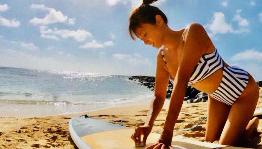 深田恭子 水着 サーフィン