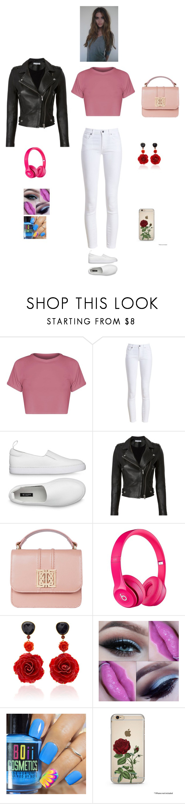 """K B F F"" by queen-kaitlyn ❤ liked on Polyvore featuring Barbour, IRO and Bahina"