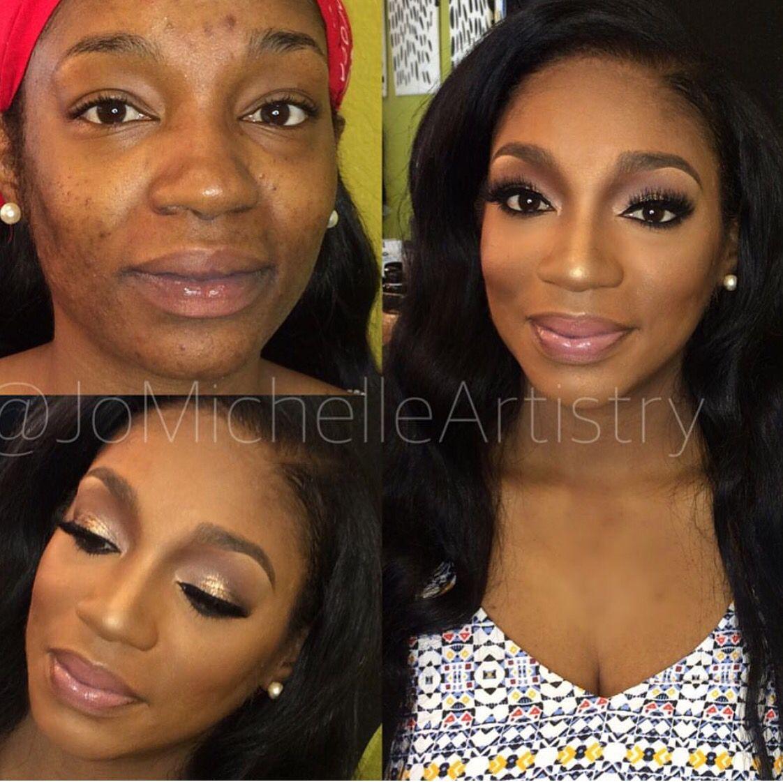 Makeup for black women Makeup for beginners, Contour