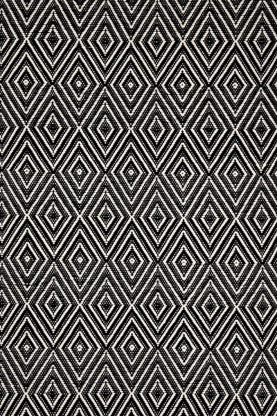 Diamond Indoor Outdoor Rug Black Ivory Dash Albert