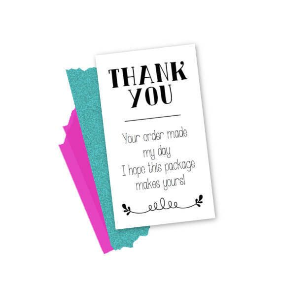 Small Business Cards Packaging Supplies Custom Business Cards Thank You Scratch Off Cards BUSINESS Order Inserts Scratch Off Win Cards