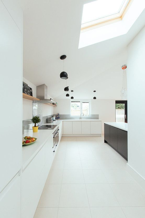 Modern kitchen by PARKdesigned Architects https://www.homify.co.uk/ideabooks/30790/stunning-transformation-of-a-1930s-semi