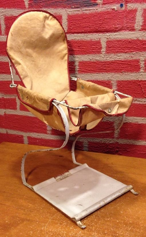 Vintage Doll Sized Bouncy Chair 16 Quot Tall Made Of Metal