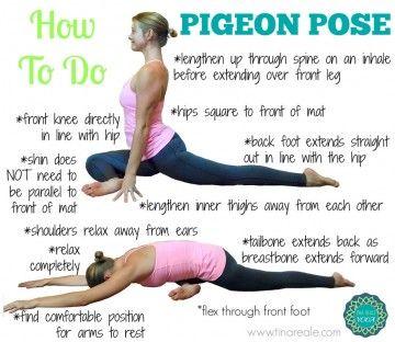 Kapotasana Pigeon Pose Benefits Pigeon Pose Yoga How To Do Yoga Yoga Benefits