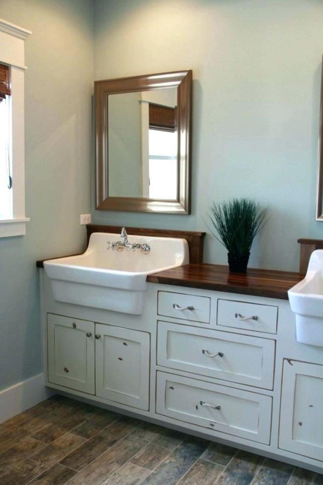 15 Wonderful Farmhouse Bathroom Design And Decor Ideas You Have