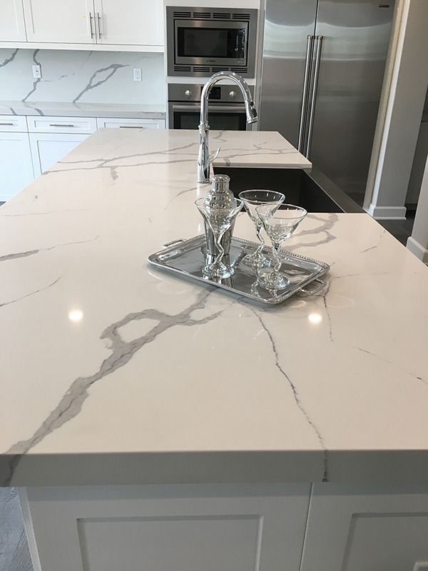 Arizona Tile Bella Statuario Quartz Quartz Countertops Kitchen