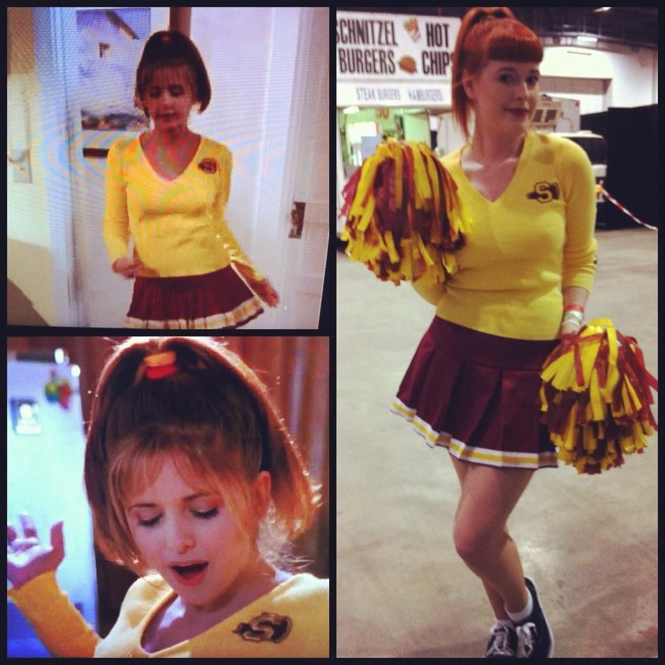 buffy cosplay - cheerleading outfit | all hallow's eve | pinterest