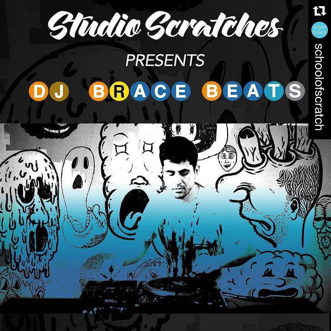 """#Repost @schoolofscratch  Coming soon!  Exclusive beat tape from @dj_brace for your ears. Including the much requested """"Modern Thug"""" beat that I used in my 30 Days of Scratching project over 2 years ago.  SoS members will receive one beat for free plus Brace is giving away one copy of his new awesome 7"""" to one student who records a scratch video cutting over it. Stay tuned! So excited!  Big love to Brace!   #Dj #skratch #skratching #scratch #scratching #turntablism #turntablist #technics…"""