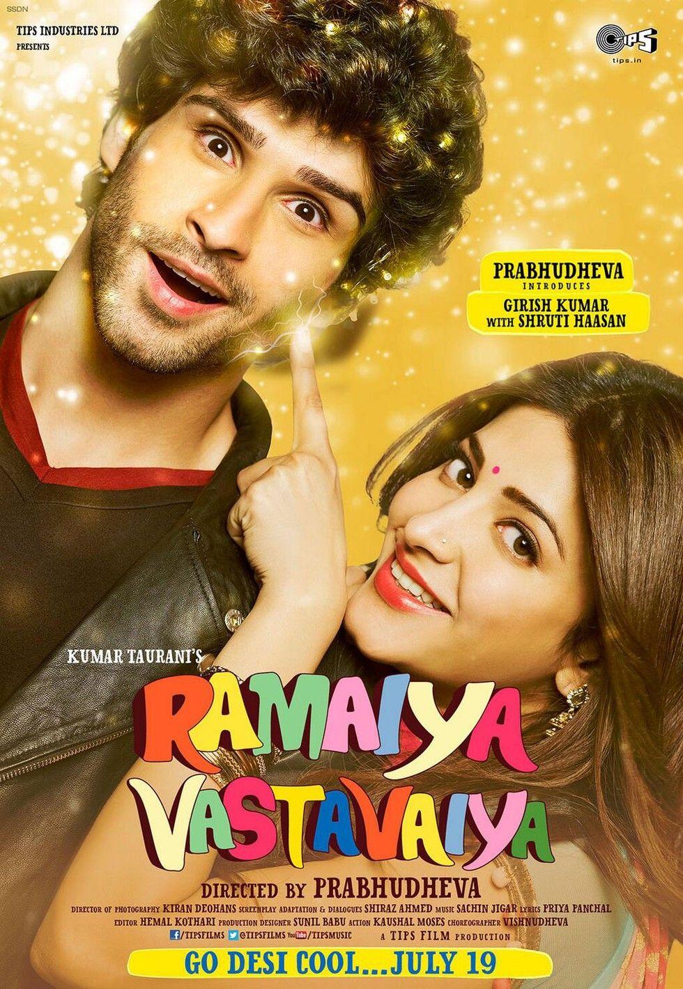 Ramaiya Vastavaiya Movie Poster 14 Bollywood, Film, Müzik