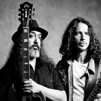 Kim Thayil & Chris Cornell of Soundgarden