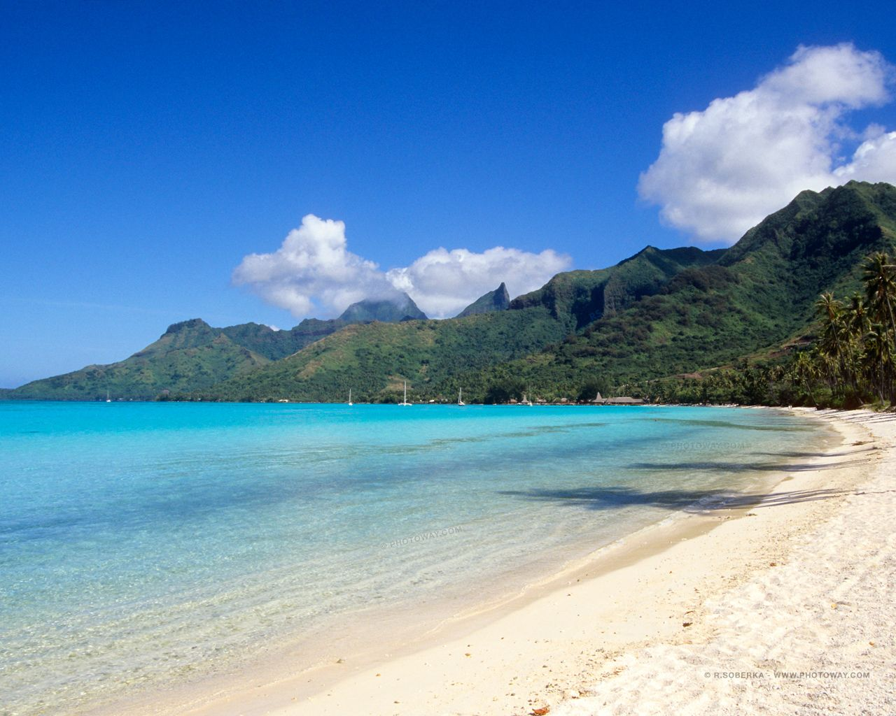Images Fond Ecran 1280x1024 Autres Tailles De Fonds D Ecran Pour Moniteurs Plus Anciens Plage De Tahiti Image Plage Plage
