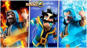 Resultado De Imagen Para Mago De Fuego Clash Royale Clash Royale Mago Magos