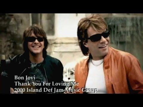 Bon Jovi - Thank You For Loving Me (Official Uncut Music Video) - YouTube