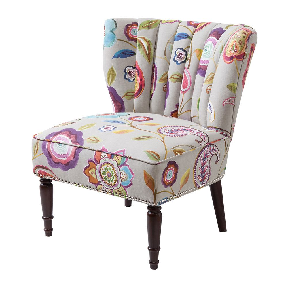 Create a vivacious display in your home with this Tori chair ...