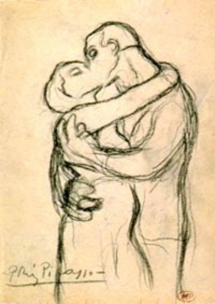 Il bacio, Picasso