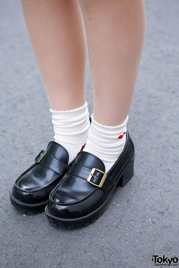 Cute Sailor Coat Heart Handbag Loafers In Harajuku Loafers Sock Shoes Cute Shoes