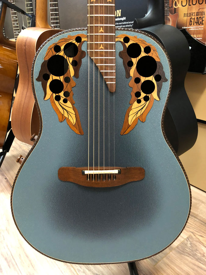 Ovation Adamas Ii 1681 8 Acoustic Guitar W Hard Case Pre Owned Bananasatlarge Acoustic Folk Guitar Guitars Guitar Acoustic Guitar Capo Acoustic Guitar