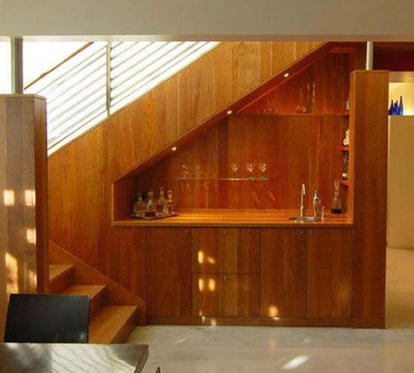 16 Interior Design Ideas And Creative Ways To Maximize: Muebles Bajo Escaleras, Decoración