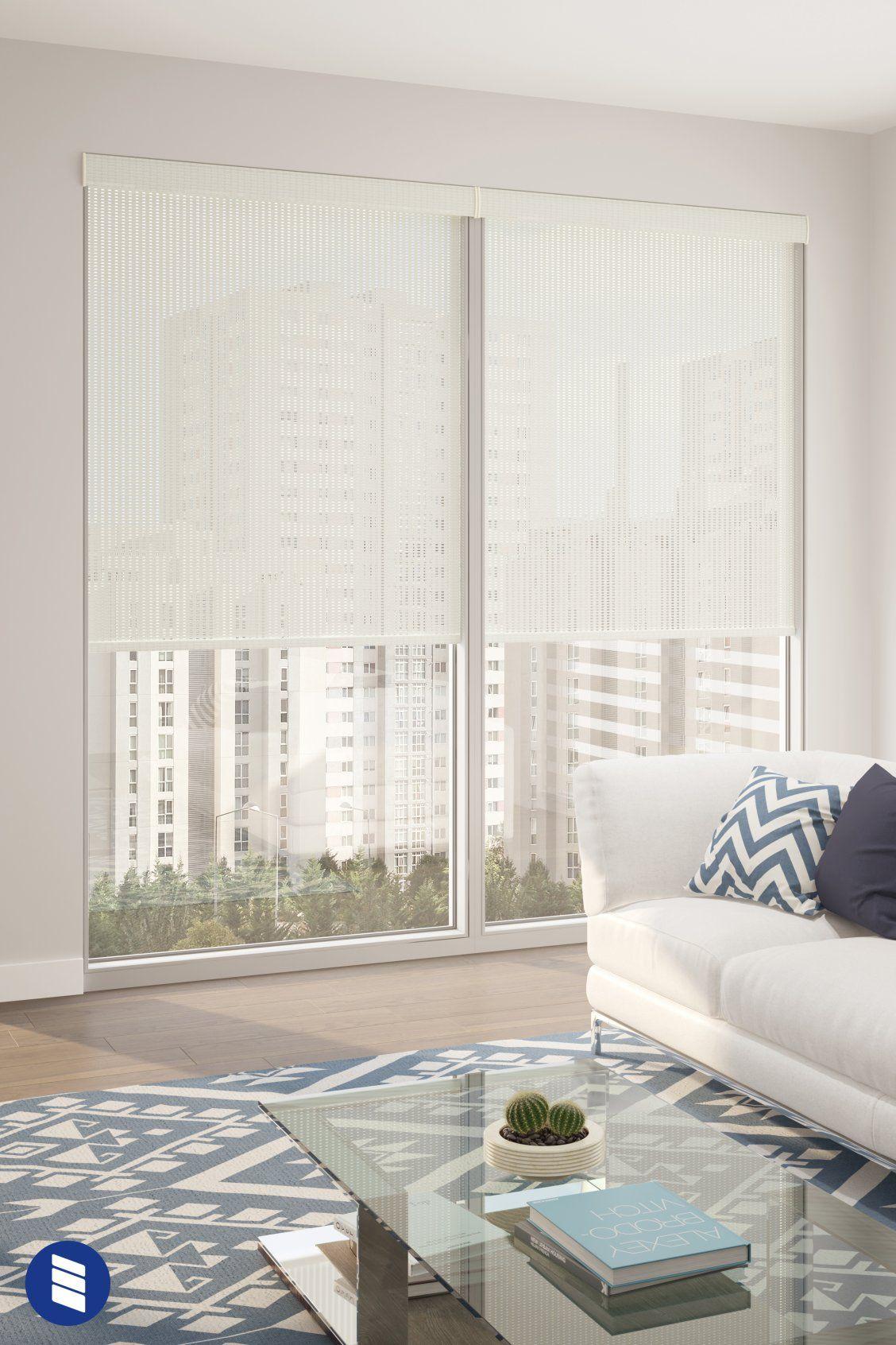 Levolor Solar Roller Shades Blinds Com Living Room Designs Interior Design Living Room Window Treatments Living Room