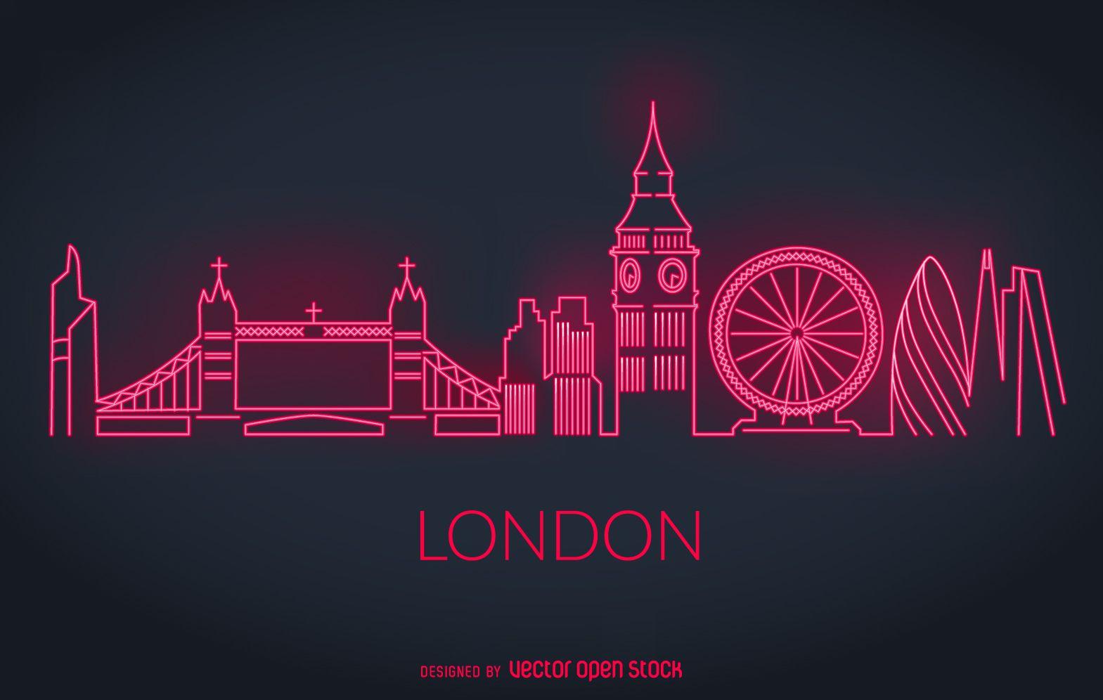 Resultado de imagen de SILUETA DE LONDRES LINEA | ARTE EMARCABLE ...