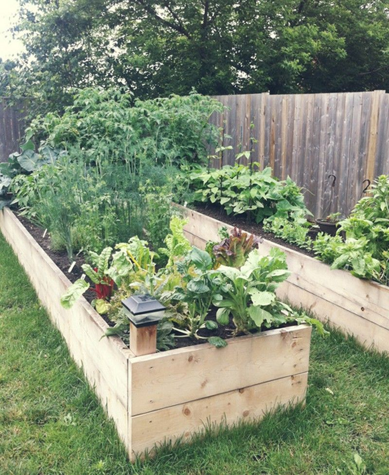 Gentil DIY Easy Access Raised Garden Bed. Really Simple Raised Bed Design That  Could Be A