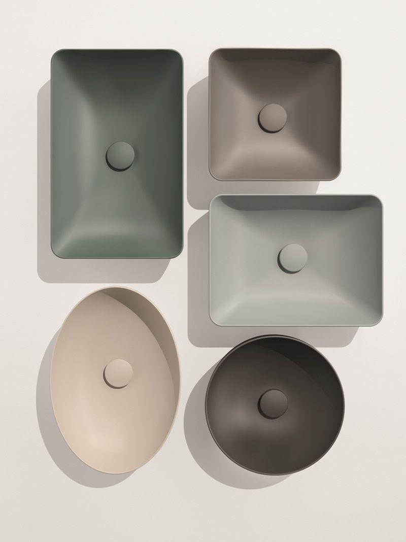 Bathroom Collections Lavabi E Sanitari Colorati Color Elements Di