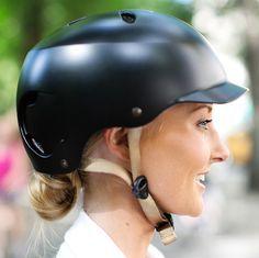 37d4ca1409e Bern Lenox Summer EPS Helmet in Satin Black via Bike pretty