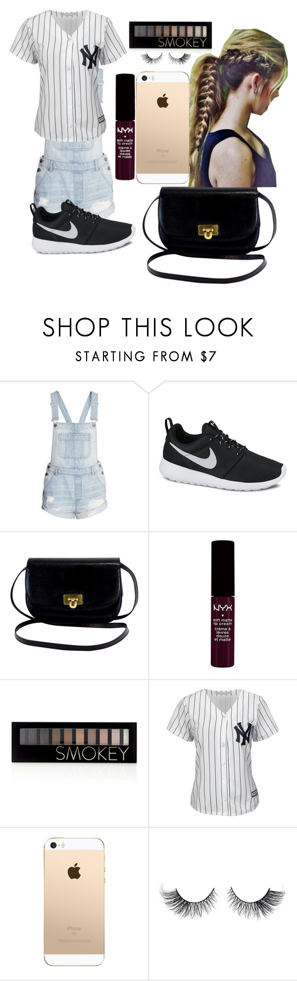 """Big Rings - Future"" by qveennoprincess ❤ liked on Polyvore featuring NIKE, NYX, Forever 21 and Majestic"