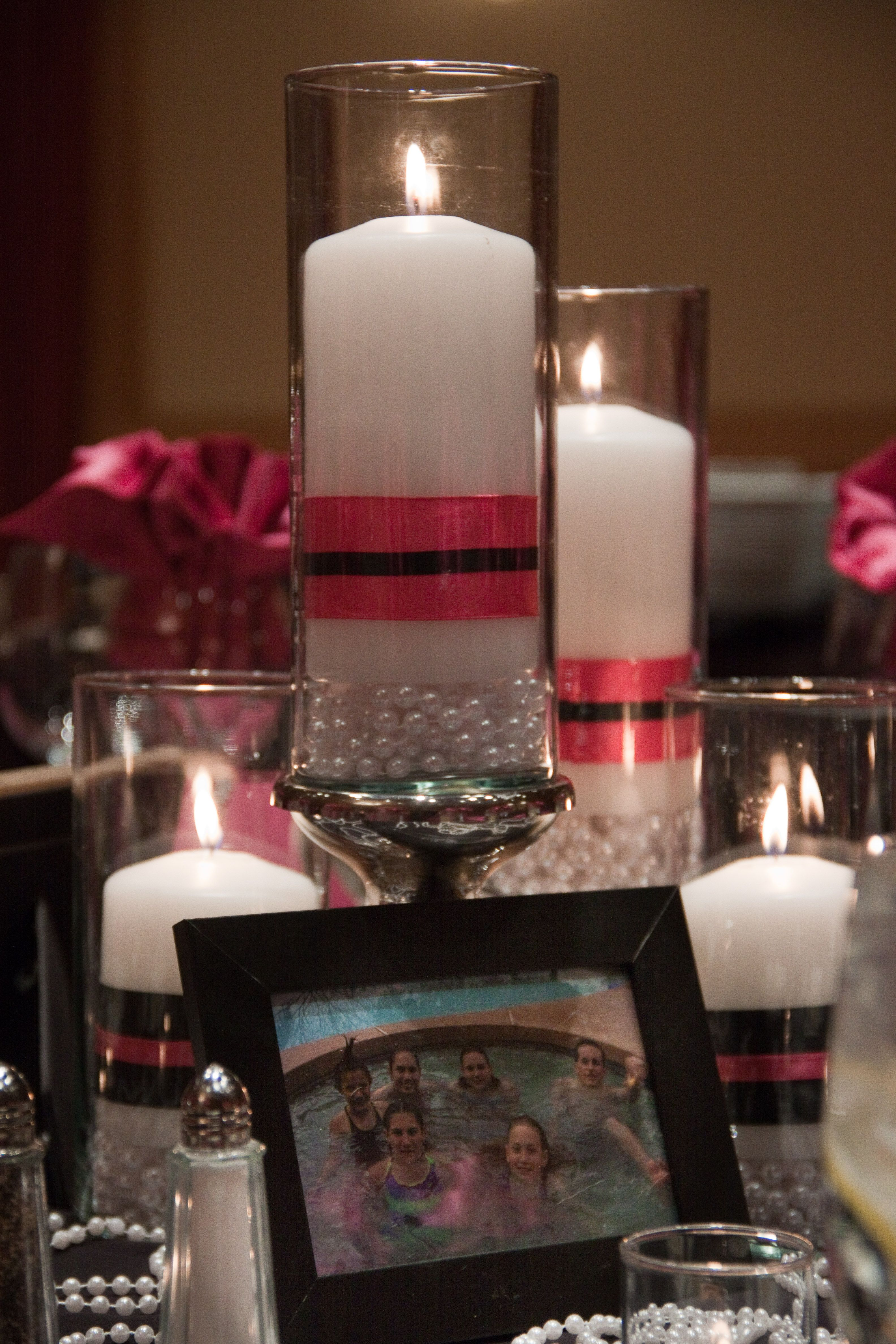 closeup of pearls centerpiece..this would be so cute for a ...