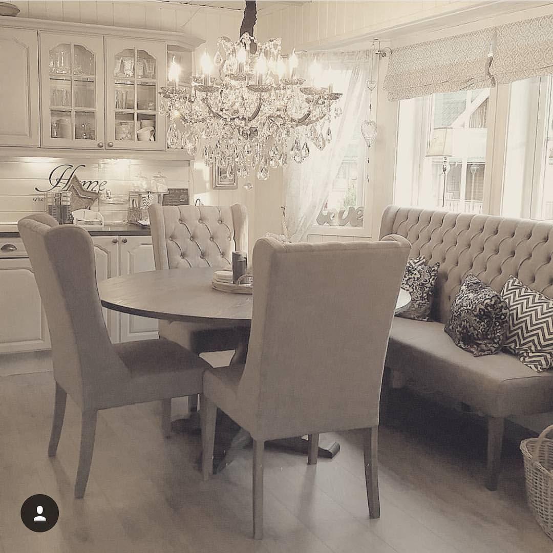 Home decor inspiration inspire me home decor for Glam dining room ideas