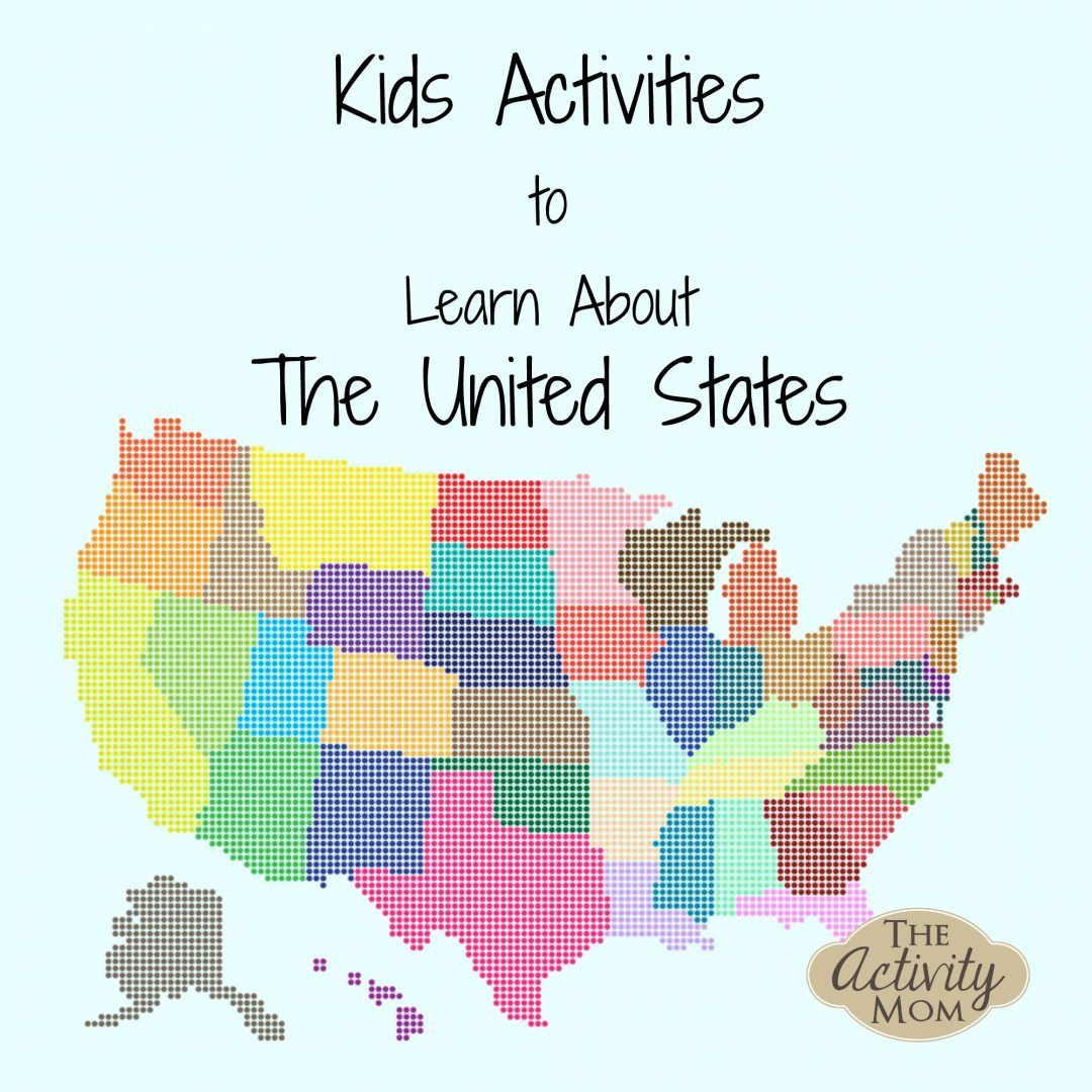 States Activities Printable