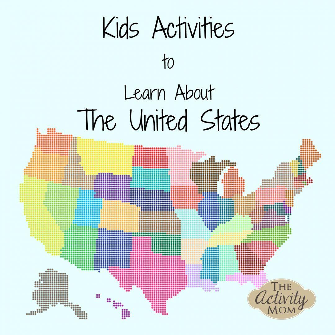 States Activities Printable
