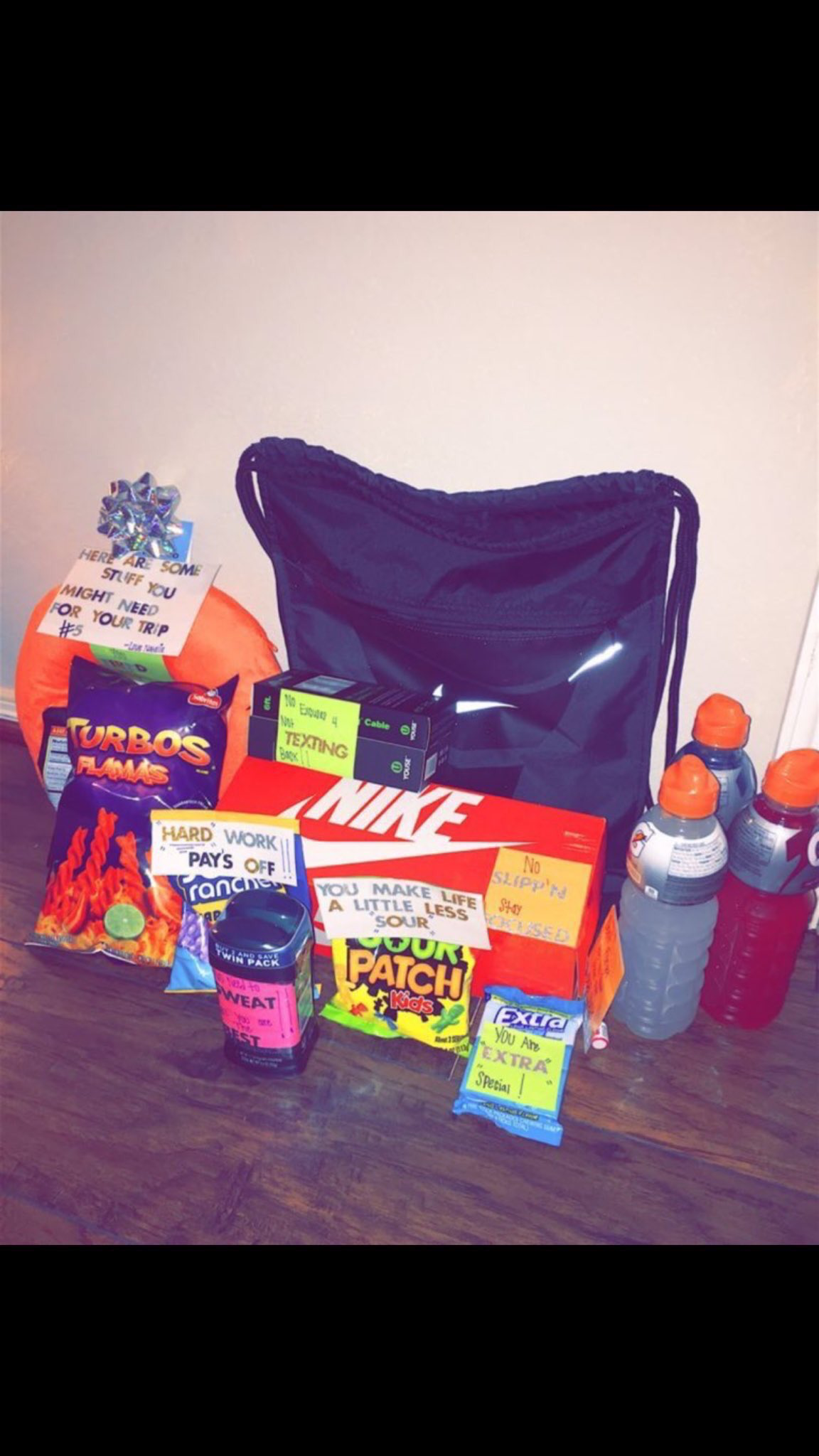 care package for basketball boyfriend … | Good Present for Boyfriend ...