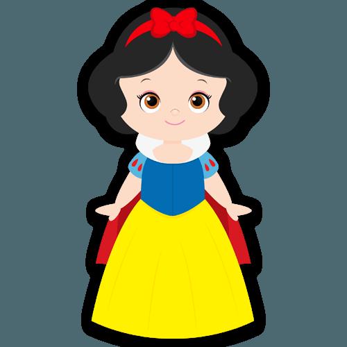 Blancanieves Y Los Siete Enanitos Vinilos Infantiles Blancanieves Bebe Blancanieves Minimalista Disney