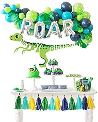 Happy Jungle Baby Shower Decorations Kit