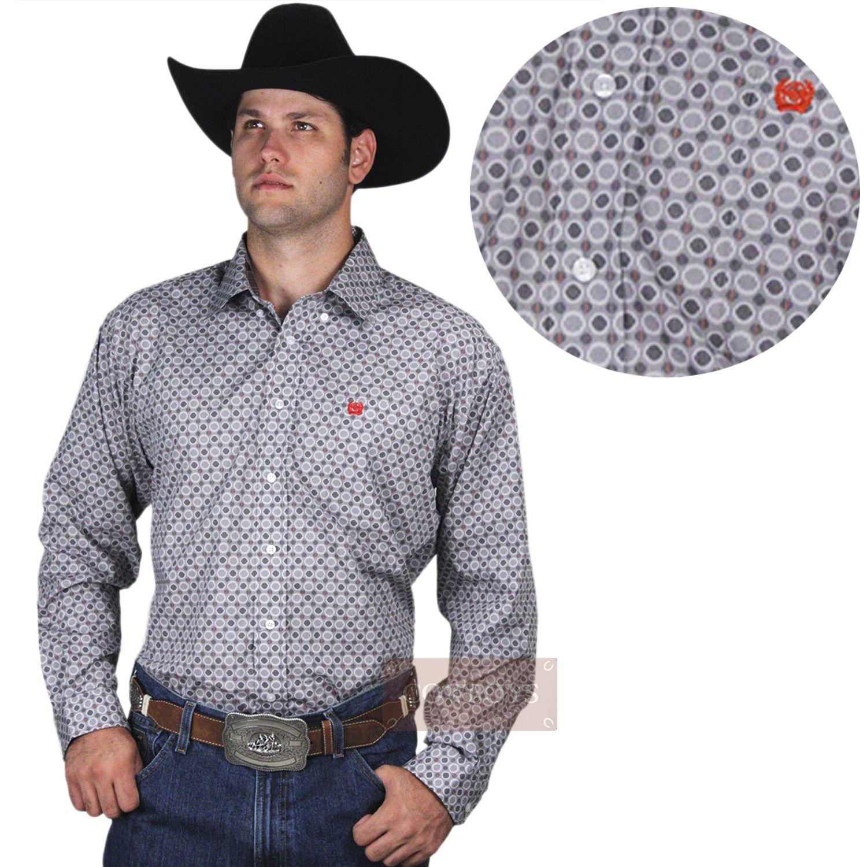a410feafd4 Camisa Masculina Cowboy Country Camisa Masculina manga longa